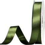 Κορδέλα  Σατέν Διπλής Όψης Λαδί 15mm x 50μ.