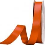 Κορδέλα  Σατέν Διπλής Όψης Πορτοκαλί 15mm x 50μ.