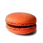 Orange Macarons With Sea Salt Milk Caramel