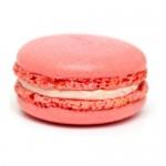 Pink Macarons With Madagaskar Cream And Liqueur