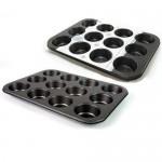 Metal 12 Cupcake Form