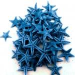 Μπλέ Φυσικοί Αστερίες 1-2εκ Συσκευασία 100 τεμ