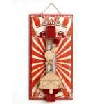 Easter andle Vintage Circus