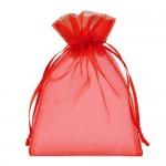 Red Organza Bags 13 x 18 cm  100pcs