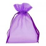 Lilac Organza Bags 13 x 18 cm 100pcs