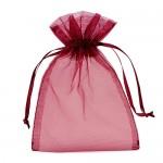 Bordeaux Organza Bags 13 x 18 cm 100pcs