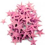 Ρόζ Φυσικοί Αστερίες 1-2εκ Συσκευασία 100 τεμ