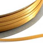 Kορδέλα Σατέν Διπλής Όψης 3 mm x 100μ Χρυσό