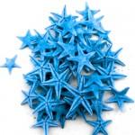 Turqoise Natural Starfish 1-2cm 100pcs