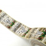Christmas Ribbon Elegant Reindeer 5.5cmX9m